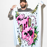 Geoff Ramsey PopSick Inked Melter Swelter Throw Blanket