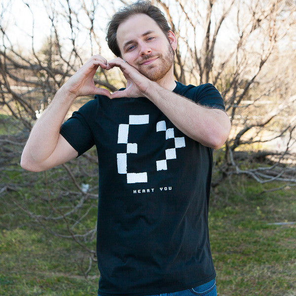 Meg Turney 'Heart You' Men's Shirt
