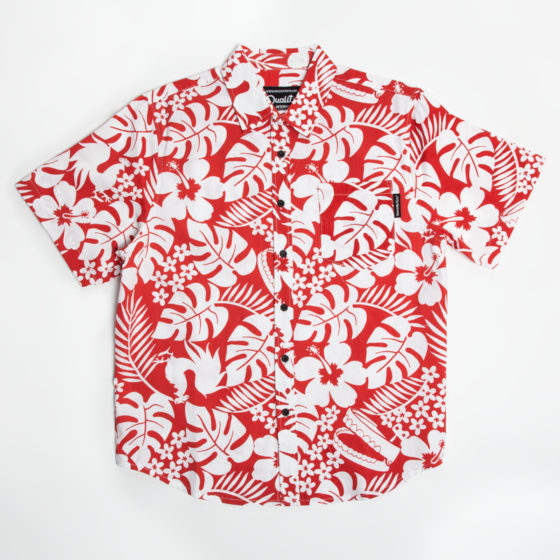 Rooster Teeth Aloha Woven Shirt