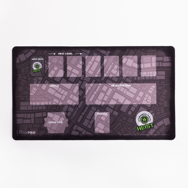 Achievement Hunter Heist Double Sided Play Mat Game Board