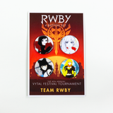 RWBY Vytal Button Pack 1 - Team RWBY