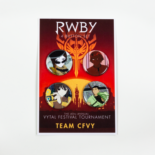 RWBY Vytal Button Pack 4 - Team CFVY