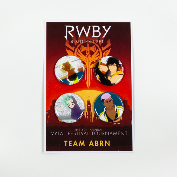 RWBY  Vytal Button Pack 5 - Team ABRN