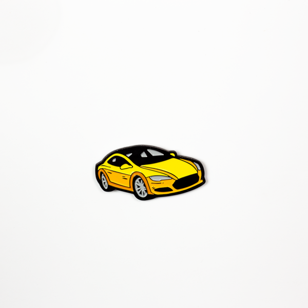 Rooster Teeth Burnie's Car Soft Enamel Pin