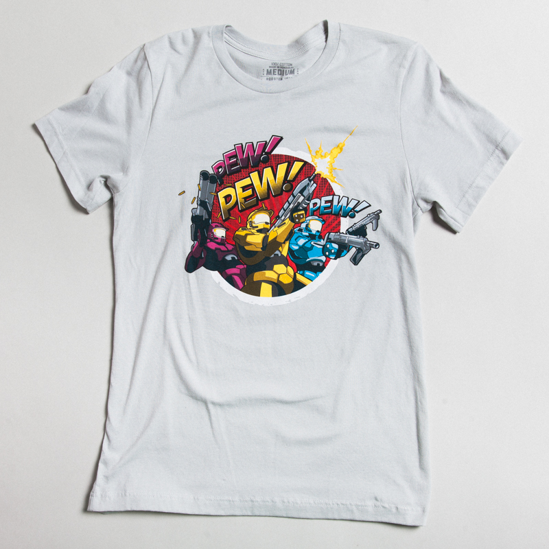 Red vs. Blue Pew Pew Pew Tee