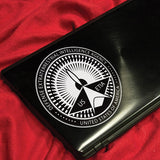 Lazer Team DETIA Seal Vinyl Decal (Black)