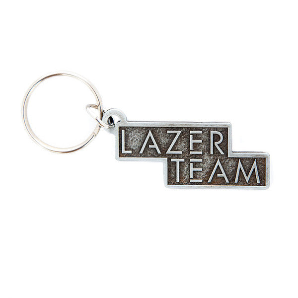 Lazer Team Logo Embossed Metal Keychain