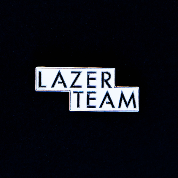 Lazer Team Lapel Pin