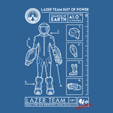 Lazer Team Suit of Power Shirt