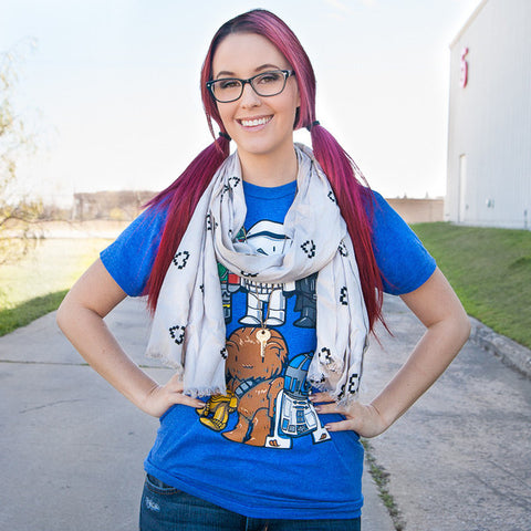 Meg Turney Heart Lightweight Scarf