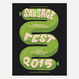 "AH Off Topic Sausage Fest Poster (18"" x 24"")"
