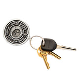 ORF Embossed Metal Keychain