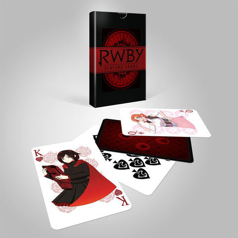 RWBY Playing Cards