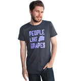 People Like Grapes Shirt - Gray