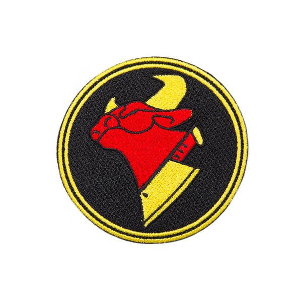Cow Chop Logo Patch