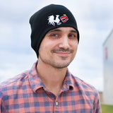 Rooster Teeth Logo Black Beanie