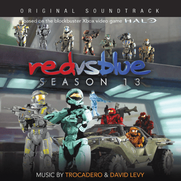 Red vs. Blue Season 13 Soundtrack CD