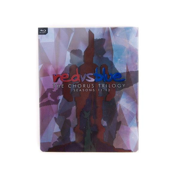 Red vs. Blue Chorus Trilogy SteelBook Blu-Ray Set