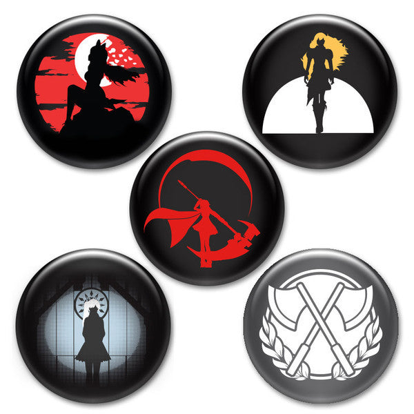 RWBY Button Pack #2