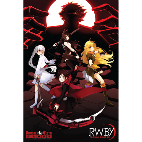 RWBY Grimm Eclipse Poster