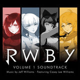 RWBY Volume 1 Soundtrack: 2 CD Set