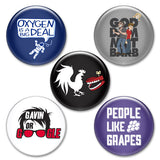 Rooster Teeth Button Pack #2