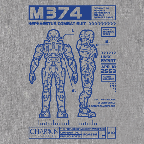 RvB Charon Industries Shirt
