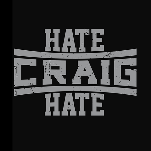 ScrewAttack Hate Craig Hate Shirt