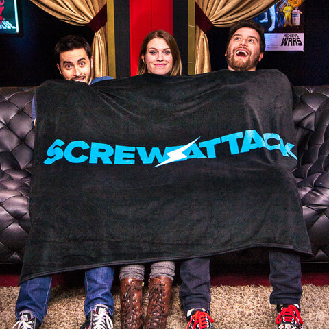 ScrewAttack Microplush Blanket