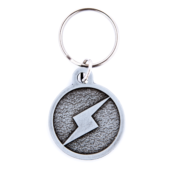 ScrewAttack Logo Embossed Metal Keychain