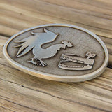 Rooster Teeth Logo Belt Buckle