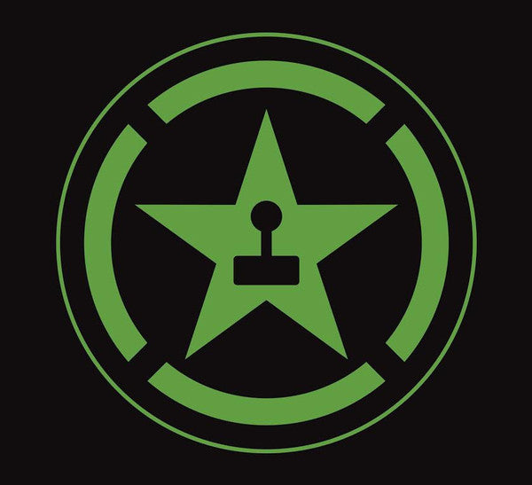 Achievement Hunter Logo Vinyl Decal (Green)