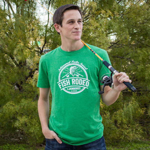 Achievement Hunter Fishing Rodeo Shirt