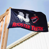 Rooster Teeth Logo Flag