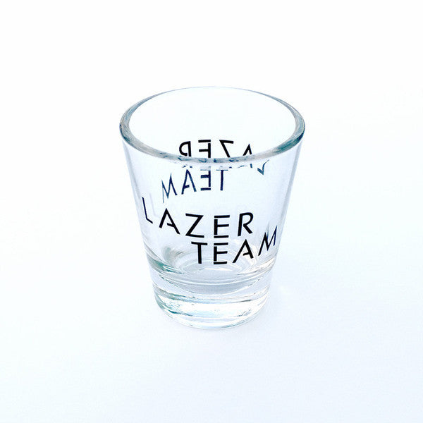Lazer Team Logo Shot Glass