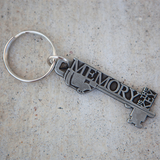 Memory is the Key Keychain