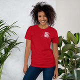 Red Web Logo T-Shirt