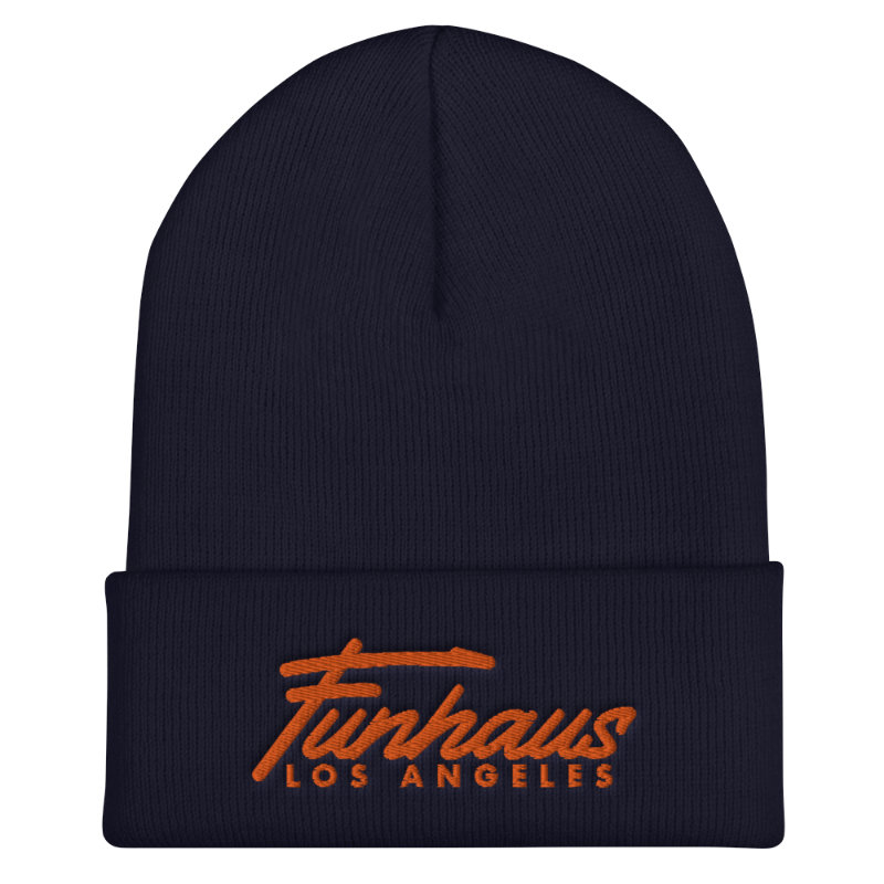 Funhaus Los Angeles Embroidered Beanie