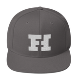 Funhaus Embroidered Logo Snapback Hat