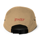 RWBY Ruby Emblem Embroidered 5 Panel Hat