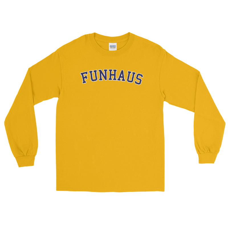 Funhaus Varsity Long Sleeve Shirt
