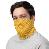 RWBY Yang Plaid Neck Gaiter