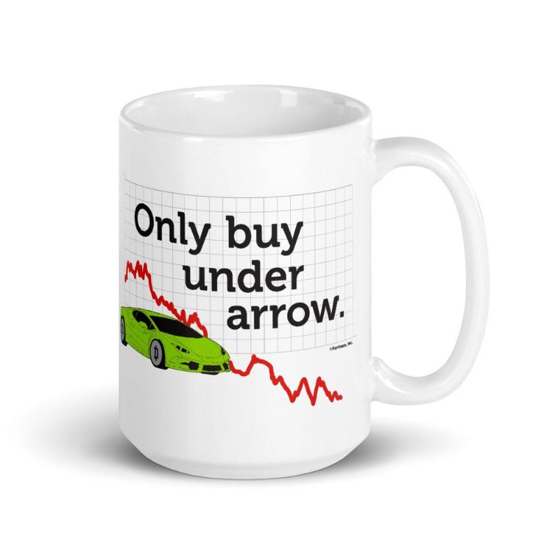 Funhaus Buy Under Arrow Coffee Mug