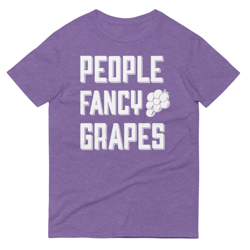 Rooster Teeth UK Exclusive People Fancy Grapes T-Shirt