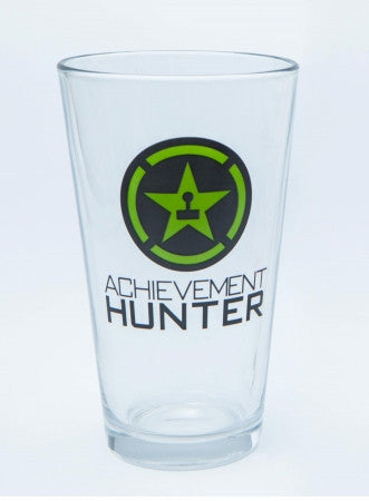 Achievement Hunter Logo Pint Glass