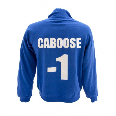 Caboose Zipper Hooded Sweatshirt