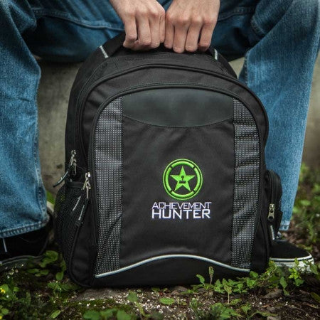 Achievement Hunter Logo Back Pack (Black)