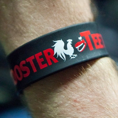 Rooster Teeth Logo Multi-Color Slap Band (2 pack)