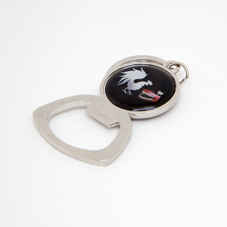 Rooster Teeth Cock Bite Logo Key Chain and Bottle Opener