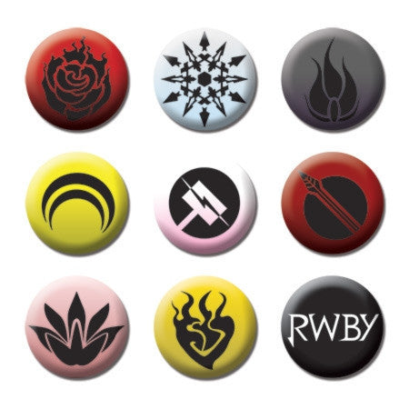 RWBY Button Pack